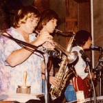 Jeff Elliott with Craig Thomas and Jim Messina, 1977