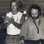 Jeff Elliott with Joe Farrell, Tel Aviv, Israel, 1985