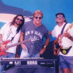 Jeff Elliott with Mike Lopez and Randy Madron, 1994