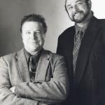 Jeff Elliott with Mike Lopez, 1998