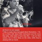 Jeff Elliott in the 1998 Shades of Jazz calendar