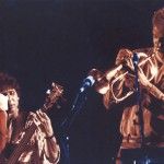 Jeff Elliott playing with Flora Purim and Airto at the North Sea Jazz Fest, Holland, 1985