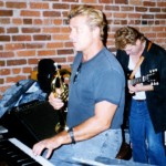 Jeff Elliott playing at Joseppi's, 1985