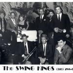 Jeff Elliott with The Swing Kings, an LA band, 1993