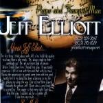 Jeff Elliott, piano and trumpet man