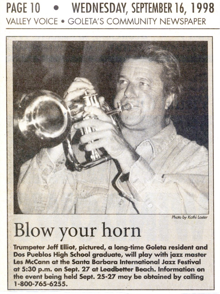 Blow Your Horn, Valley Voice, Sept. 16, 1998